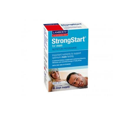 Strongstart Lamberts for men 30caps + 30tab