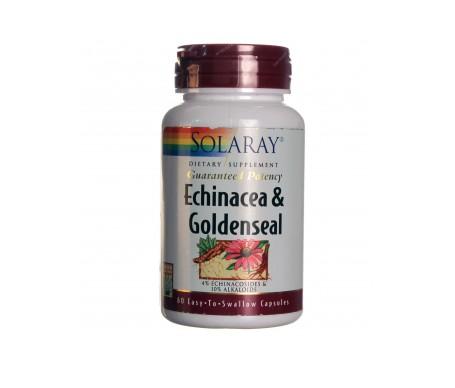 Solaray Goldenseal Equinacea 60 Cáps