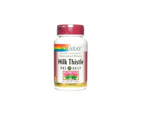 Solaray Milk Thistle Cardo Mariano 30 Cáps