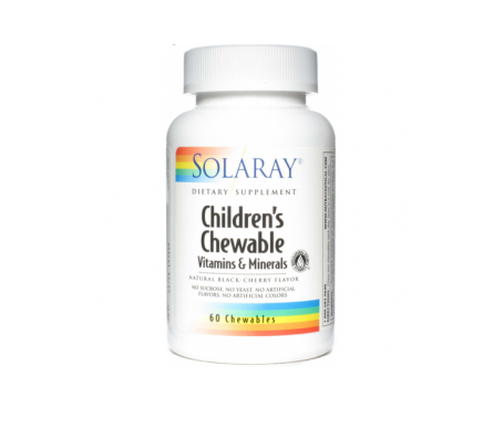 Solaray Childrens Masticable 60comp