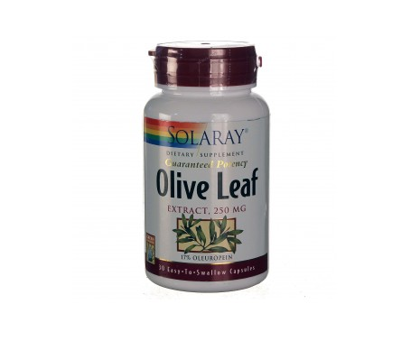Solaray Olive Leaf 30 Cáps