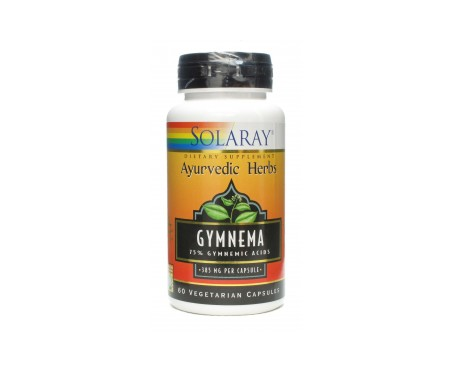 Solaray Gymnema 385 Mg 60 Cáps