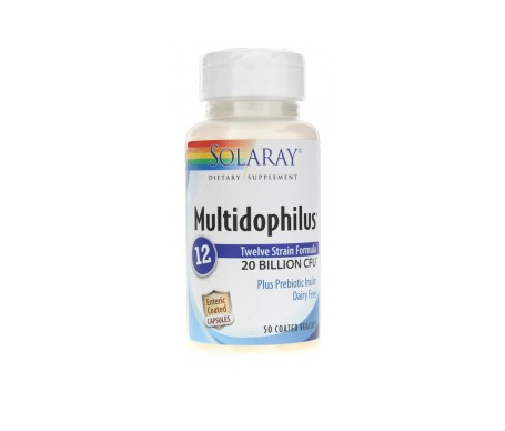 Solaray Multidophilus 12 Cáps