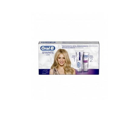 Oral-b 3dwhite Tratamiento De Blanqueamiento Perfeccion 2x75 Ml
