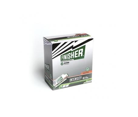 Finisher® Intensity Gel Energético Sabor Fresa 12 Sobres De 50g