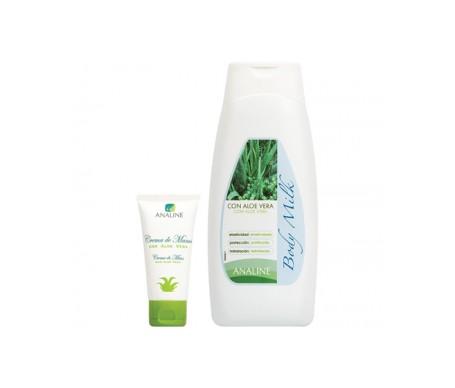Analine® body milk Aloe vera 300ml + crema manos de regalo