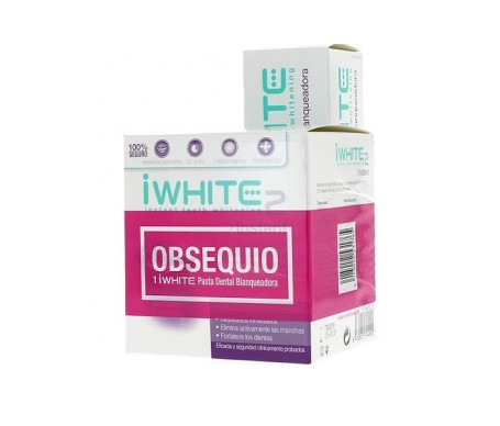 iWhite Instant2 + pasta dental blanqueadora 75ml