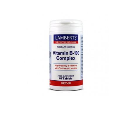 Lamberts Vit B 100 Complex 60 Comp 60 Comp