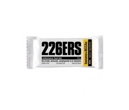 226ERS Endurance Fuel Bar plátano + BCCAs barrita energética 1ud