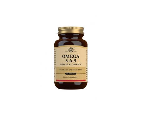 Solgar Omega 3-6-9 120 perlas