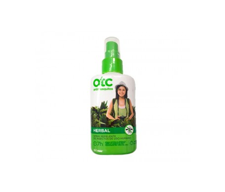 OTC Herbal spray repelente de insectos 100ml