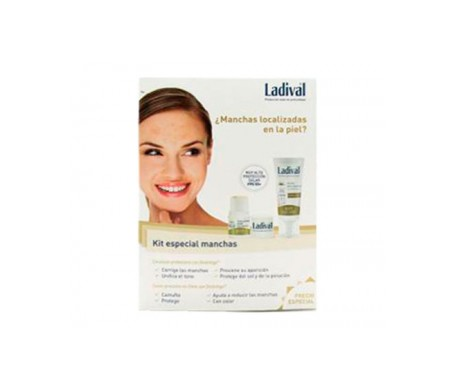 Ladival® Kit Especial Manchas SPF50+ emulsión protectora 50ml y Stick cover protector con color