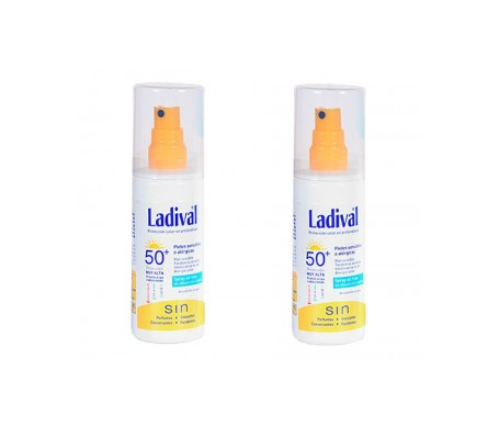 Ladival® Pack Pieles Alérgicas Sensibles SPF50+ spray oil free 2udsx150ml