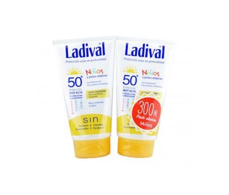 Ladival® Pack Niños SPF50+ Crema pieles atópicas 150ml +150ml