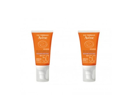 Avène Solar emulsión coloreada SPF50+ 2x50ml