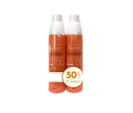Avène Solar spray SPF50+ 2x200ml