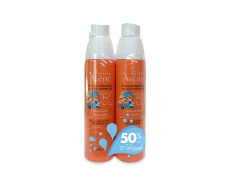 Avène Solar spray niños SPF50+ 2x200ml