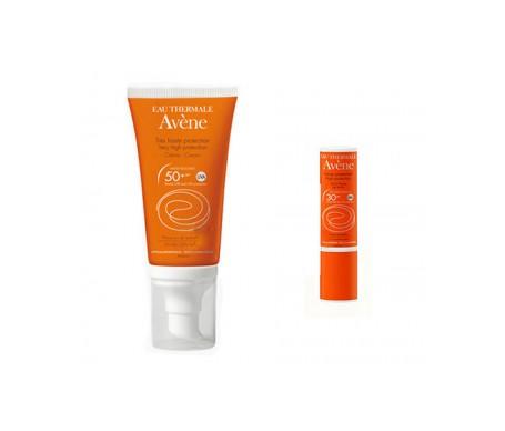 Avène Solar Pack crema SPF50+ 50ml + stick SPF30+