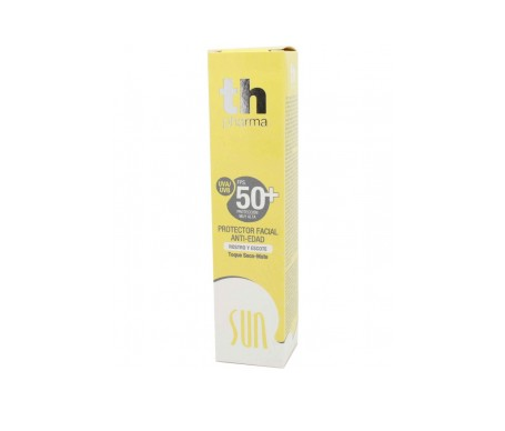 Th Pharma Sun Crema Facial Con Color Fps 50+ Dorado 50 Ml