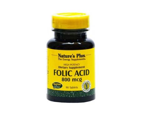 Nature's Plus Acido Folico 90comp