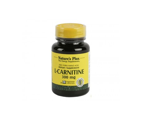 Nature's Plus L-carnitina 300mg 30 Caps