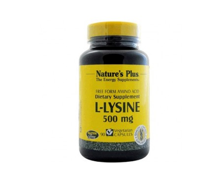 Nature's Plus L-lisina 500mg 90comp
