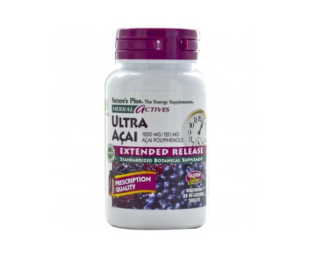 Nature's Plus Ultra Acai 30 Comp