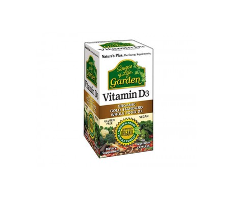 Nature's Plus Vitamina D3 60 Caps
