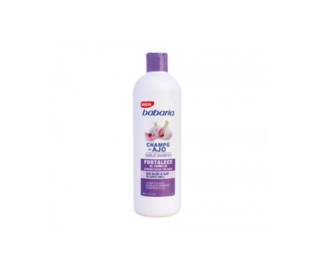 Shampoo all'aglio Babaria 600ml
