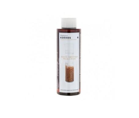 Shampoo di Korres con proteine di riso e calce 250ml