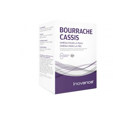 Inovance Bourrache Cassis 100caps