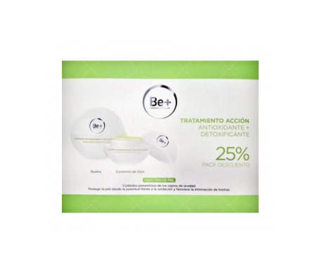 Be+ Pack Antioxidante Crema + Contorno