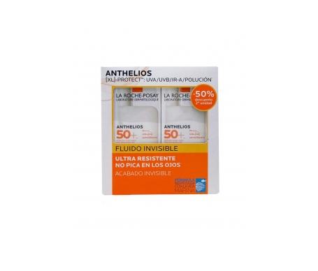 La Roche-Posay Anthelios Xl Pack fluido ultra ligero rostro 2x50ml