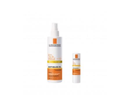 La Roche Posay -Anthelios Pack spray SPF50+ XL  stick zonas sensibles SPF50+