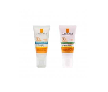 La Roche-Posay Anthelios Pack crema SPF50+ gel crema toque seco SPF50+