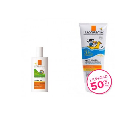 La Roche-Posay Anthelios Pack dermo-pediatrics leche SPF50+ leche solar niños SPF50+