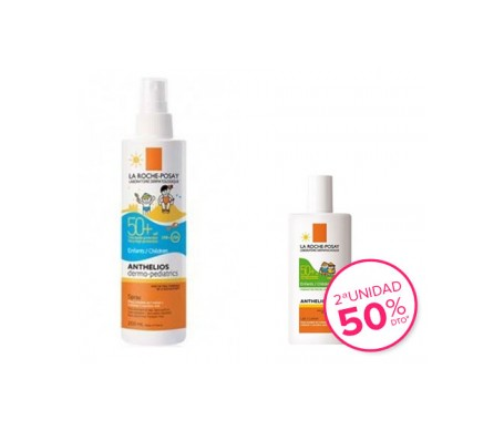 La Roche-Posay Anthelios Pack dermo-pediatrics spray SPF50+ dermo-pediatrics leche SPF50+
