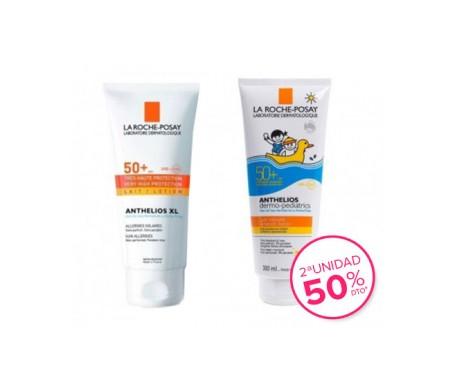 La Roche-Posay Anthelios Pack XL leche SPF50+ 250ml + leche solar niños SPF50+ 250ml