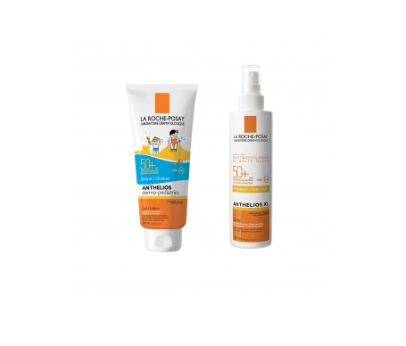 La Roche-Posay Anthelios Pack leche solar niños SPF50+ 250ml + spray SPF50+ 200ml
