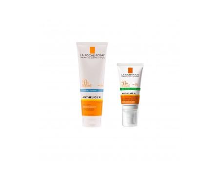 La Roche-Posay Anthelios Pack gel-crema toque seco SPF50+ 50ml + XL leche SPF50+ 250ml