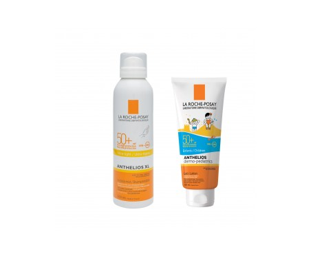 La Roche-Posay  Anthelios Pack bruma invisible SPF50+ 200ml + leche solar niños SPF50+ 250ml