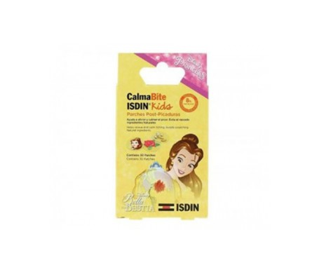 ISDIN® CalmaBite La Bella y la Bestia parches post-picadura 30 parches