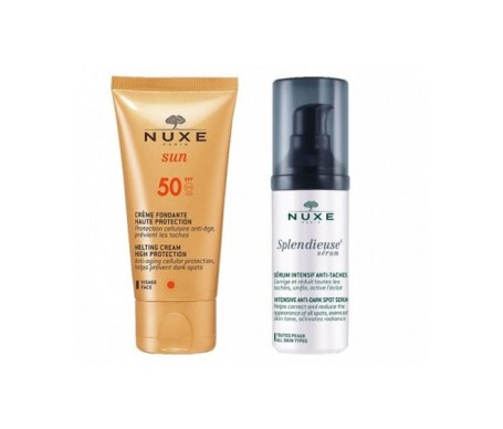 Nuxe Serum Pack Splendieuse + Crema Cara 50