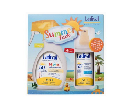Ladival Summer Pack Niños Spray 200ml  +Pieles sensibles Spray