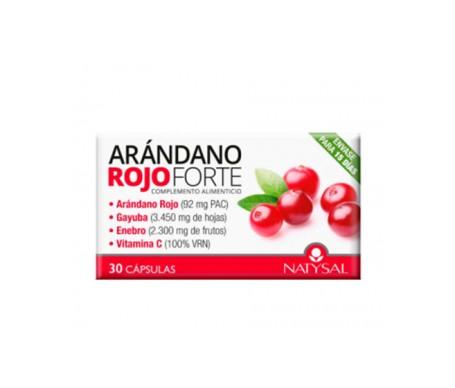 Natysal Arándano Rojo Forte 30 Caps