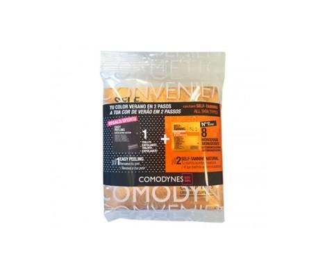 Comodynes Pack Self Tanning 8 toallitas+ Easy Peeling 20 toallitas