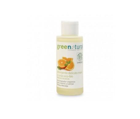 Greenatural Jabón líquido suave con menta y naranja 100ml