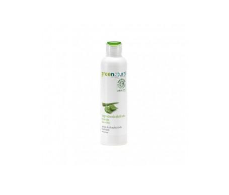 Greenatural Gel de ducha ecológico con aloe vera y oliva 250ml