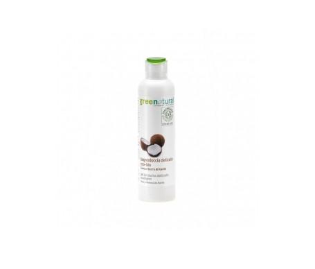Greenatural Gel de ducha ecológico con avena y mantequilla de karité 250ml