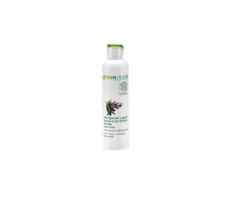 Shampoo all'olio di lino e ortica Greenatural 250ml